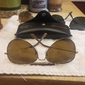 Ray Ban leathers
